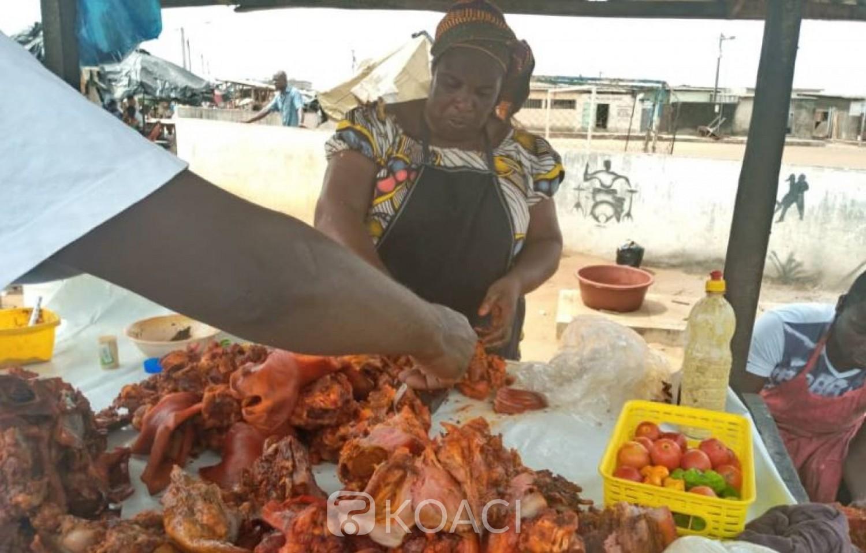 Côte d'Ivoire : Covid-19, depuis Yopougon, le cri d'alarme des vendeuses de porc  « Pensez un peu à nous et à nos enfants   »