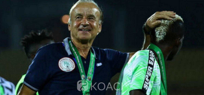 Nigeria :  Super Eagles, conditions pour renouveler le contrat de l'entraineur Rohr