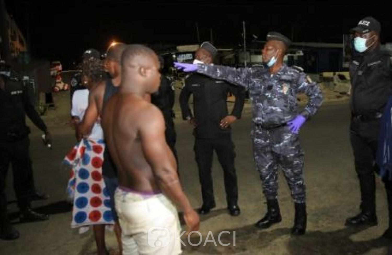 Côte d'Ivoire : Deux semaines après sa mise en œuvre, des personnes continuent de violer le couvre-feu