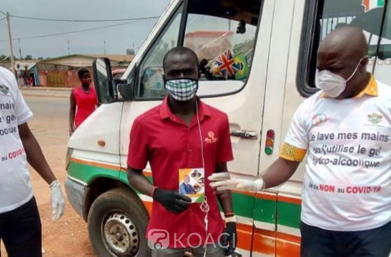 Côte d'Ivoire : Non-respect des mesures contre le coronavirus dans le secteur du transport, la police fait une importante recommandation aux clients