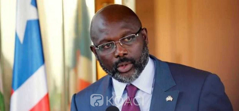 Liberia :  Weah décrète l'Etat d'urgence pour 3 semaines renouvelables