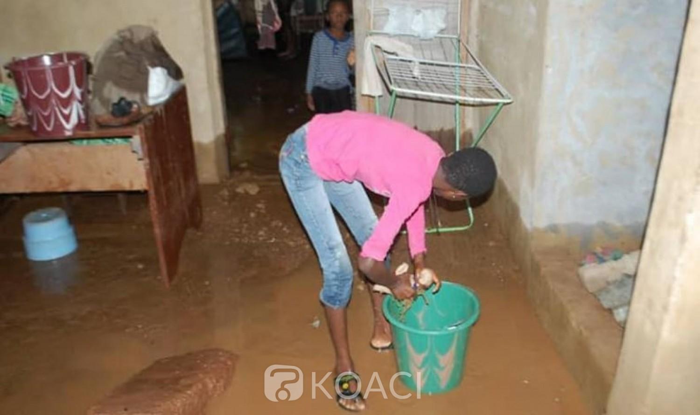 Côte d'Ivoire : A Daoukro, une forte pluie fait des sinistrés, des habitations sous les eaux