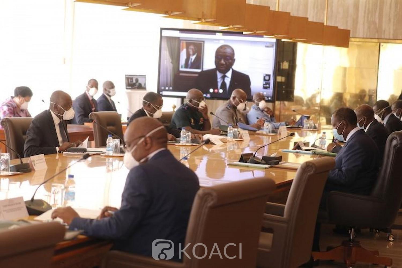 Côte d'Ivoire : Coronavirus, deuxième réunion du CNS, points abordés, attente du communiqué et Hamed Bakayoko en visioconférence