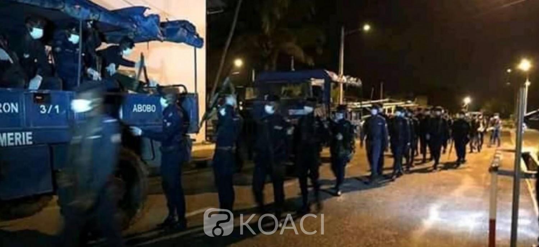 Côte d'Ivoire : Coronavirus, violation du couvre-feu, baisse des arrestations à Abidjan, hausse à l'intérieur, demande de laissez-passer par internet