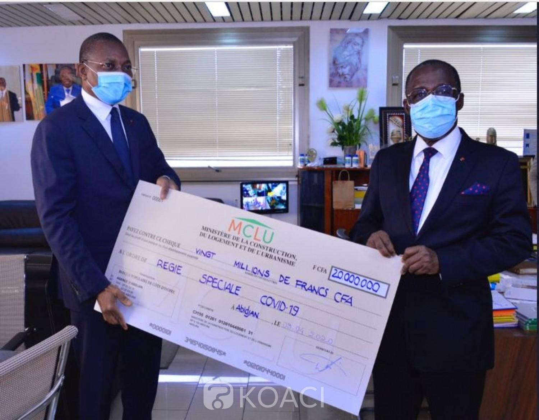 Côte d'Ivoire : Loyer, voici  l'engagement que devra prendre le locataire, Bruno Koné et ses structures font don de 20 millions pour la lutte contre le Covid19
