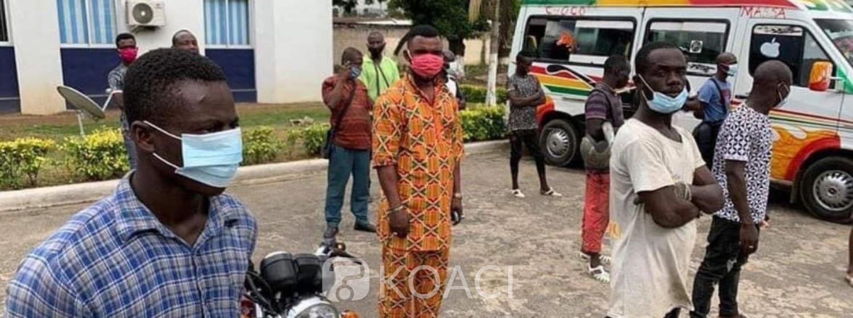 Côte d'Ivoire : Isolement d'Abidjan du Corona, arrêtés pour avoir tenté de contourner un corridor et un poste à péage