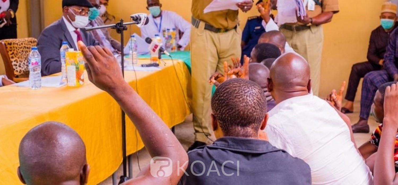 Nigeria :  Covid-19, grâce présidentielle accordée à 2600 prisonniers