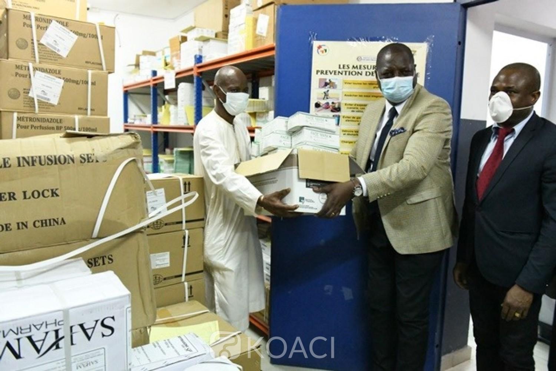 Côte d'Ivoire : Covid-19, suite aux revendications du personnel de santé, le CHU d'Angré reçoit des kits de protection à usage médical