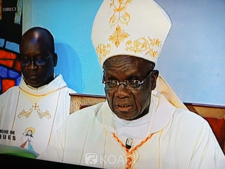 Côte d'Ivoire :  Jean-Pierre cardinal Kutwa à propos de la propagation du COVID-19 : «cette pandémie passera pour la gloire de Dieu et pour notre bonheur»
