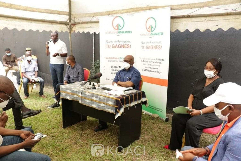 Côte d'Ivoire :  Octobre 2020, un Mouvement annonce l'enrôlement en moins d'un mois de 129888 personnes pour Gon dans le cadre de l'opération « Un citoyen, une carte d'électeur »