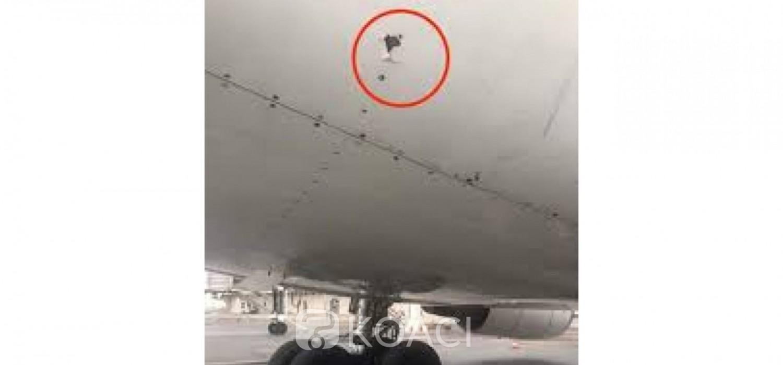 Congo : Un avion de la compagnie Air France reçoit des balles d'une intervention de la gendarmerie