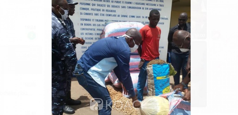 Côte d'Ivoire : Il dissimulait 250 Kg de cannabis dans des sacs sous des grains d'arachide