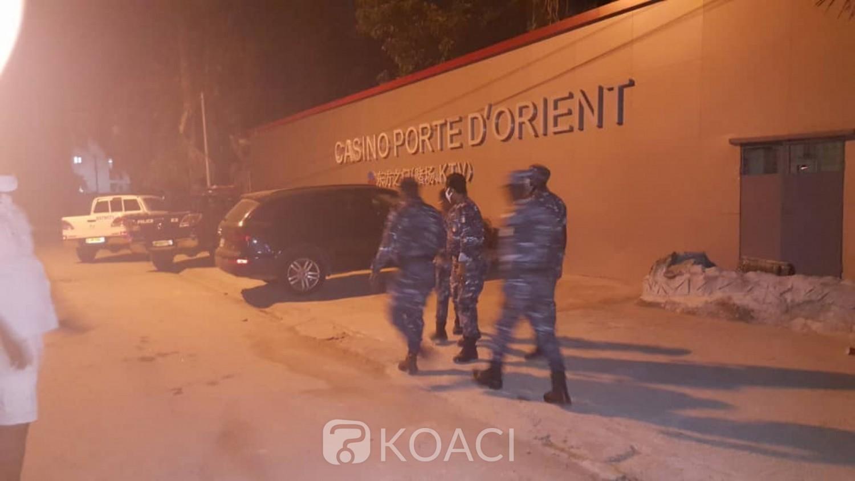 Côte d'Ivoire : Coronavirus, la police ferme un Casino d'Angré, 21 arrestations à l'interieur pour violation du couvre-feu