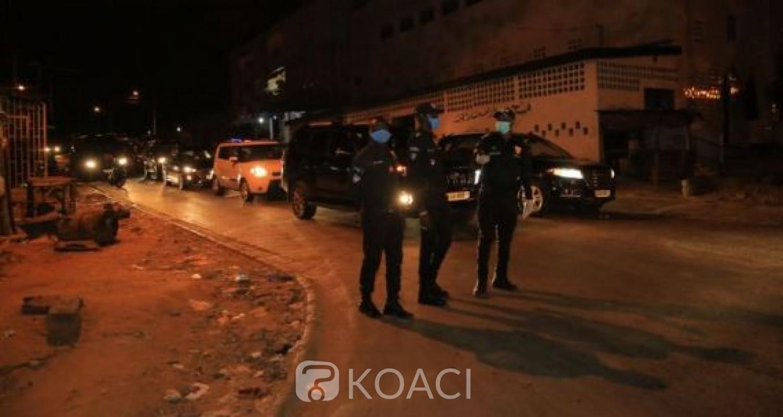 Côte d'Ivoire : 23 jours  du couvre-feu, depuis une semaine, la police note que les Ivoiriens respectent la mesure