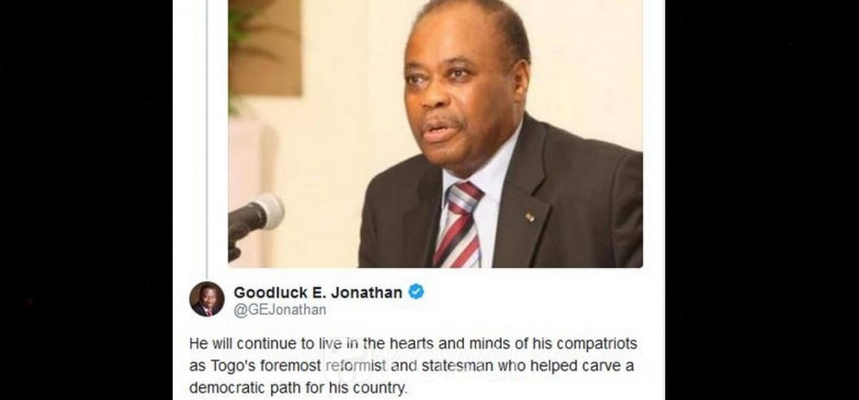 Nigeria-Togo : Hommages de Goodluck et de l'UA à Edem Kodjo