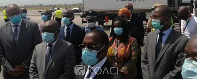 Côte d'Ivoire : Traitement du Covid-19, Aka Aouélé réceptionne 3000 doses de Plaquenil Hydroxychloroquine commandées à Sanofi