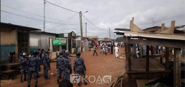Côte d'Ivoire : A Sikensi, face aux forces de l'ordre pour célébrer leur « Dipri » en plein Corona