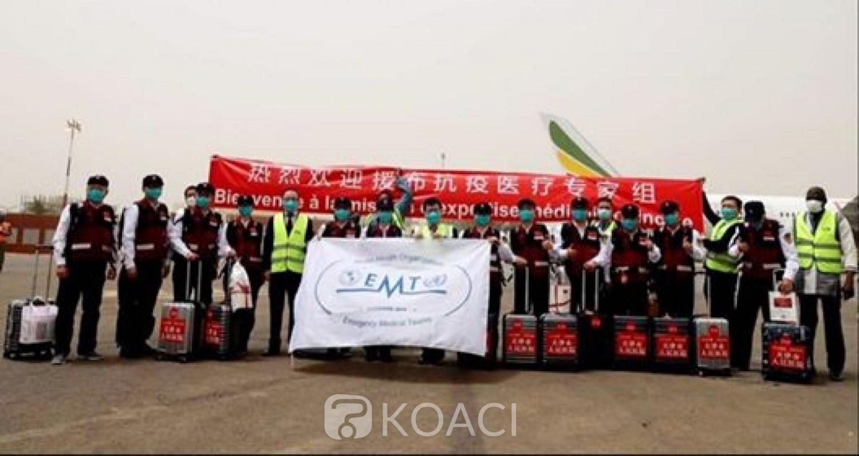Burkina Faso : Douze experts médicaux chinois à Ouagadougou pour lutter contre le coronavirus