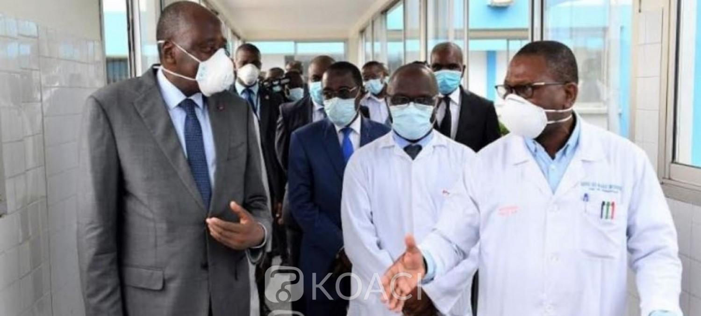 Côte d'Ivoire : Lutte contre le Covid-19, lors de sa visite aux structures de santé, Gon se réjouit d'un système sanitaire performant