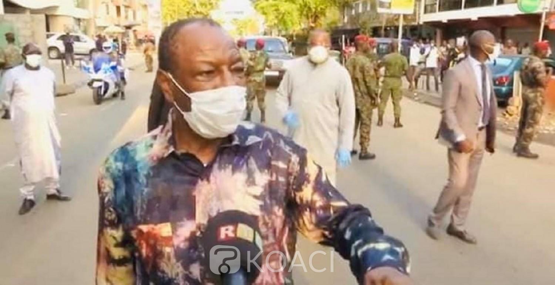 Guinée : Avec 438 cas de Covid-19, Alpha Condé remonté contre la gestion de la Pandémie