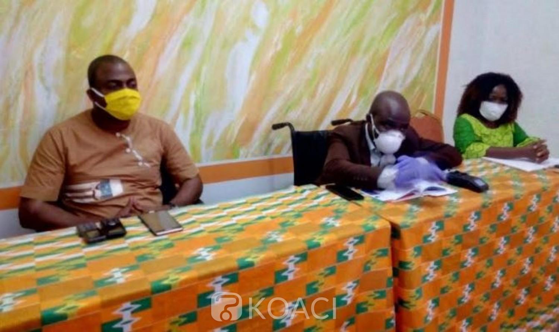 Cote d'Ivoire : Lutte contre le Covid-19, s'estimant marginalisée, la fédération des personnes handicapées créée un comité de suivi des dons