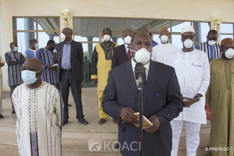 Burkina Faso : Coronavirus, le couvre-feu ramené de 21h à 4h à partir du 20 avril