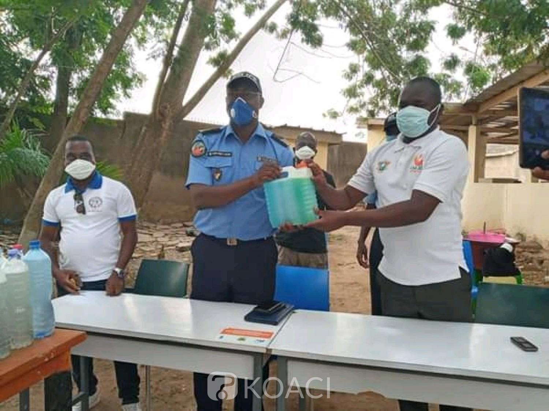 Côte d'Ivoire: Bouaké, en présence du préfet de police, le CNJCI sensibilise la jeunesse sur le Covid-19