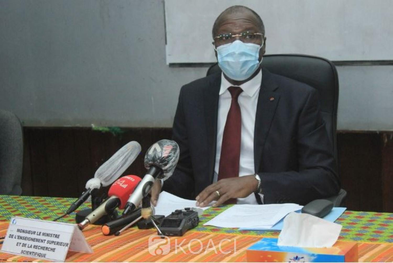 Côte d'Ivoire : Coronavirus, création d'une plate-forme pour chaque   Université et Grande École pour assurer la techno pédagogie