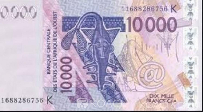 Côte d'Ivoire : Vigilance, la BCEAO dément une fausse alerte diffusée sur les réseaux sociaux sur les billets de 10000 et 5000 Fcfa