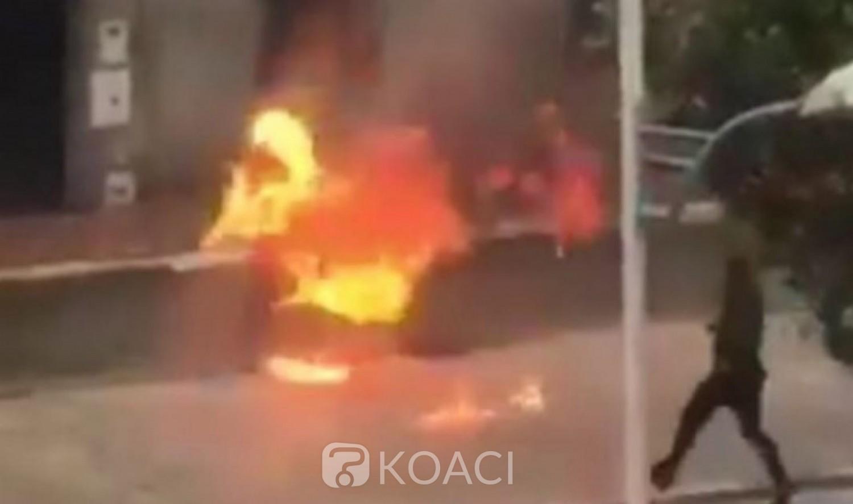 Algérie : Son taxi clandestin bloqué en plein confinement, il tente de s'immoler devant des policiers