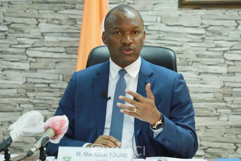 Côte d'Ivoire : Opération  « Agir pour les jeunes », en raison du COVID-19, le ministre Mamadou Touré annonce le report des échéances de remboursement des prêts de 3 mois et la poursuite des déblocage