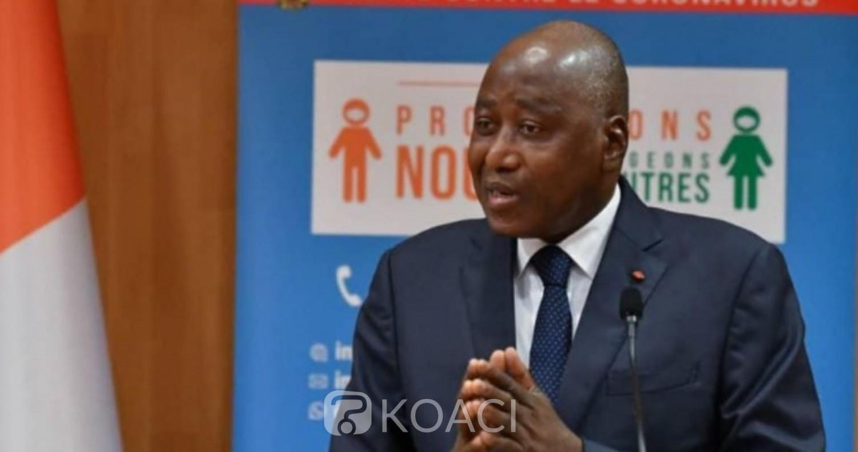 Côte d'Ivoire : Coronavirus, Gon annonce l'arrivée des masques pour le personnel de Santé et les Forces de Défense et de Sécurité et la fabrication d'alternatifs par l'industrie ivoirienne