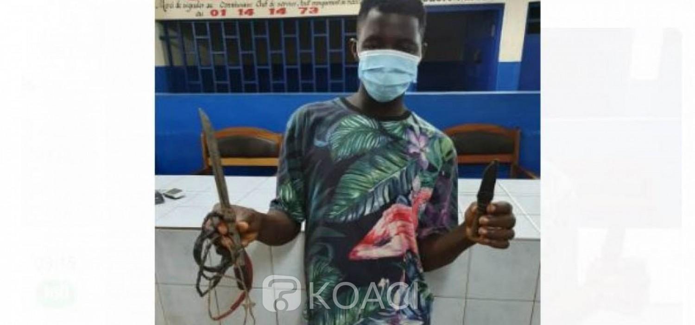 Côte d'Ivoire : A Abobo, en plein couvre-feu, armé avec gris-gris, il tentait de voler dans un hôtel