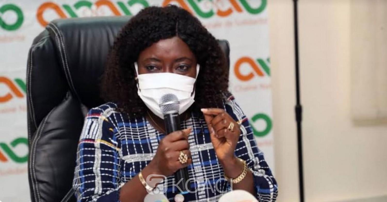 Côte d'Ivoire : Aide Covid-19, Mariatou Koné lance l'opération, plus de 2300 ménages vulnérables reçoivent le transfert d'argent