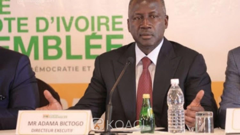 Côte d'Ivoire : Adama Bictogo lance sa fondation en plein coronavirus