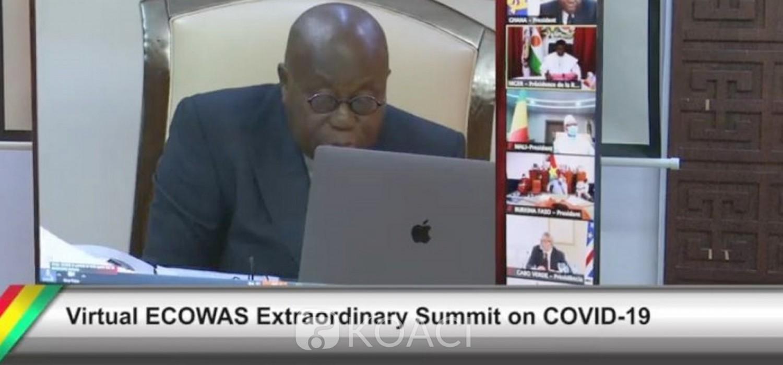 Ghana :  Sommet CEDEAO contre le Covid-19, loin du suivisme, Akufo-Addo prône une approche africaine