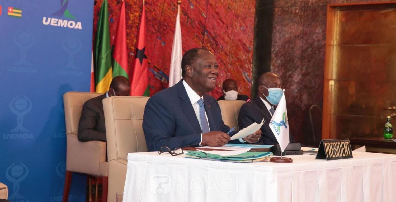 UEMOA : COVID-19, Ouattara reconnait un très faible taux de létalité dans la zone et revient sur les prévisions de croissance