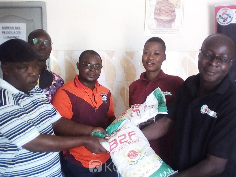 Côte d'Ivoire : Bouaké, « oubliés  » dans la vague des dons, 167 malades mentaux reçoivent du riz
