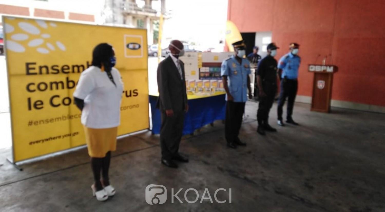 Côte d'Ivoire:  Covid-19, MTN fait don de matériels de communication aux sapeurs pompiers de l'indenié