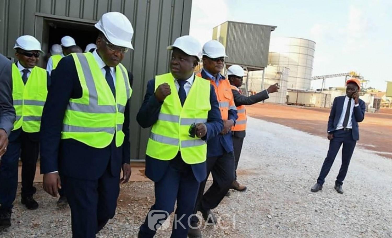 Côte d'Ivoire : Secteur minier,  Abidjan annonce une hausse des recettes fiscales de 43,62% en 2019 avec 94,562 milliards de francs CFA contre  65,841 milliards de francs CFA en 2018