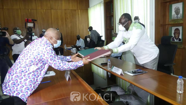 Côte d'Ivoire : Un accord cadre signé entre le FPI et le PDCI pour agir ensemble pour une réconciliation effective et inclusive