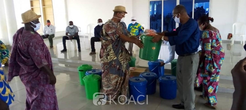 Côte d'Ivoire : Covid-19, à Songon-Dagbé, le district renforce le dispositif de riposte des populations contre la pandémie
