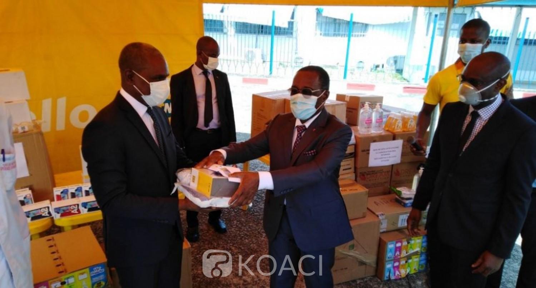 Côte d'Ivoire : MTN fait don d'équipements médicaux et telecoms au CHU de Treichville