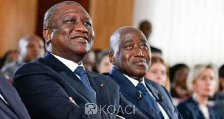 Côte d'Ivoire : Amadou Gon Coulibaly en France pour un « contrôle médical », Hamed Bakayoko assure l'intérim
