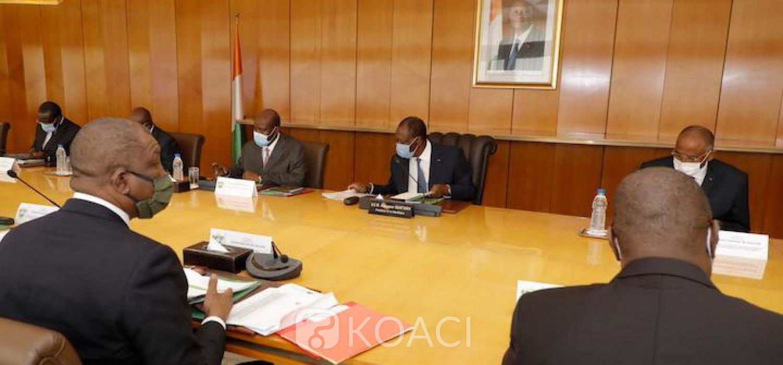 Côte d'Ivoire : Réunion du CNS sur le Coronavirus, Alassane Ouattara devant la Nation à 20 heures