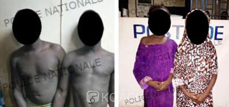 Côte d'Ivoire : Un ivoirien et un burkinabé enleveurs de fillettes arrêtés à Bonon