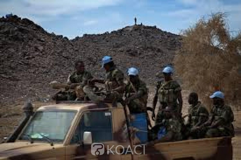 Mali: Trois casques bleus tchadiens tués dans l'explosion d'une mine à Aguelok