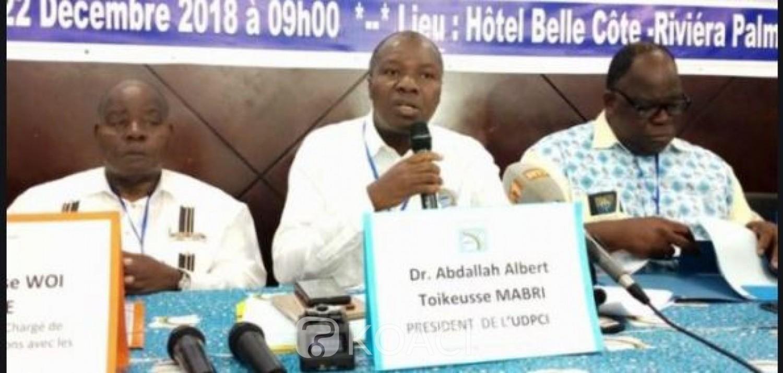 Côte d'Ivoire : UDPCI, Mabri désormais porte-parole donne rendez-vous à ses  militants aux prochaines consultations