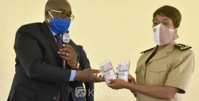 Côte d'Ivoire : 18 millions de FCFA du PR du Sénat aux propriétaires de maquis de Didievi, Tiébissou, Toumodi etc. pour la relance de leurs activités