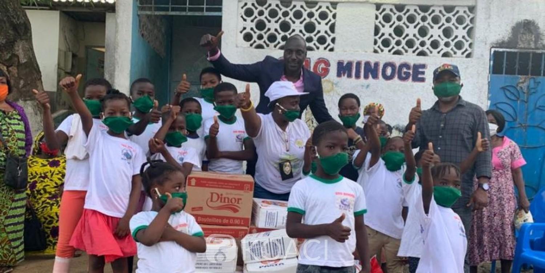 Côte d'Ivoire : Depuis 15 ans, JJK prend en charge des orphelins entrés pour certains dans la vie active